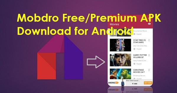 Mobdro APK - Download & Install Mobdro App Free & Premium