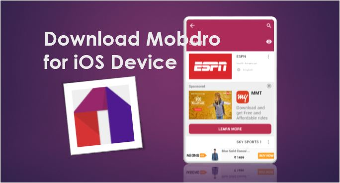 Mobdro for iPhone iPad iOS