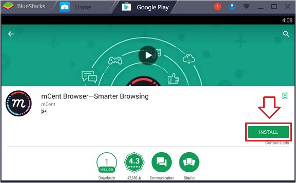 download mCent Browser for PC windows 10 mac laptop