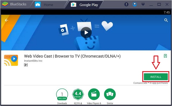 Web Video Caster for PC - Download on Windows 7/8/8 1/10 & Mac