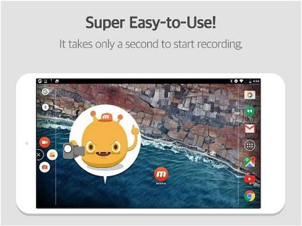 record or capture screen using mobizen screen recorder