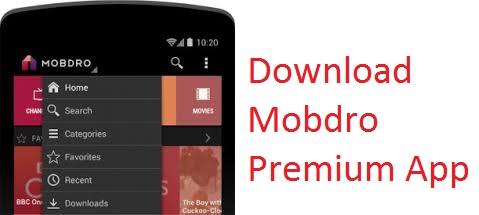 mobdro premium apk download for androd ios iphone ipad