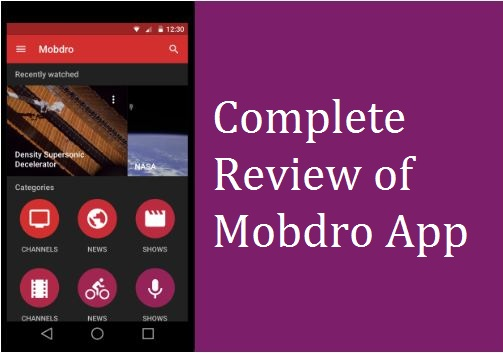 Mobdro Review